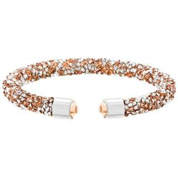 Crystal Energy Light Peach Multi Crystal Elements Bracelet