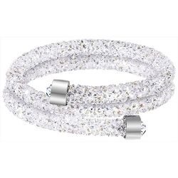 Crystal Energy Crystal Clear Elements Wrapped Coil Bracelet