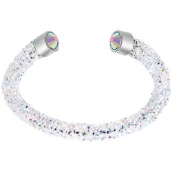 Crystal Energy Clear Crystal Elements Bracelet