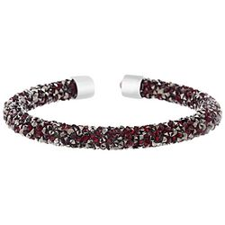 Crystal Energy Red Siam Crystal Elements Bracelet