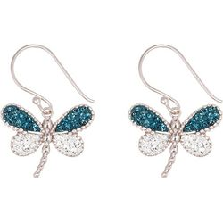 Aldona B Crystal Elements Dragonfly Earrings