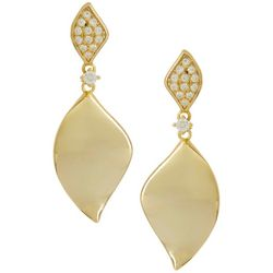Aldona B Crystal Elements Marquis Earrings