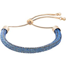 Crystal Energy Sapphire Blue Crystal Elements Bracelet