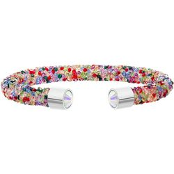 Crystal Energy Multi Crystal Cuff Bracelet