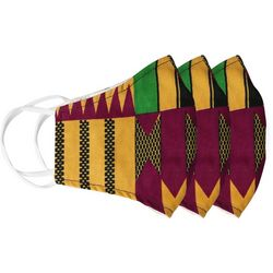 BLING Colorful Geometric 3-pc Reusable Masks