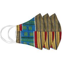 Block Striped 3-pc Reusable Masks