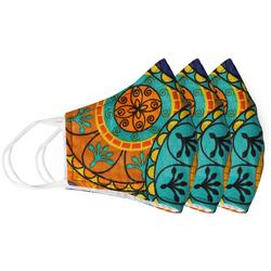 Abstract Floral 3-pc Reusable Masks