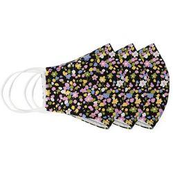 Black Floral 3-pc Resusable Masks