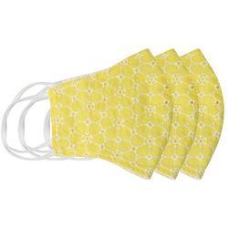 BLING Daisy Eyelet 3-pc Reuasble Masks