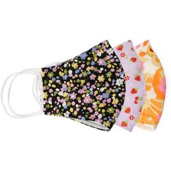 Variety Floral 3-pc Reusable Masks
