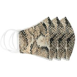 Snake Print 3-pc Reusable Masks