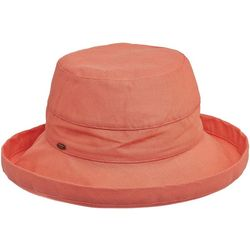 Scala Womens Cotton Medium Brim Sun Hat