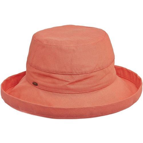 265eedcb0 Scala Womens Cotton Medium Brim Sun Hat