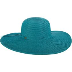 Scala Womens Big Brim Paper Braid Sun Hat