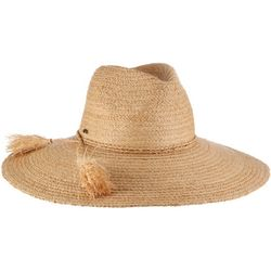 Scala Womens Fine Braided Raffia Safari Hat
