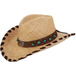 Scala Womens Pinch Front Cowboy Hat