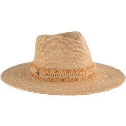 Tommy Bahama Womens Crochet Raffia Safari Hat