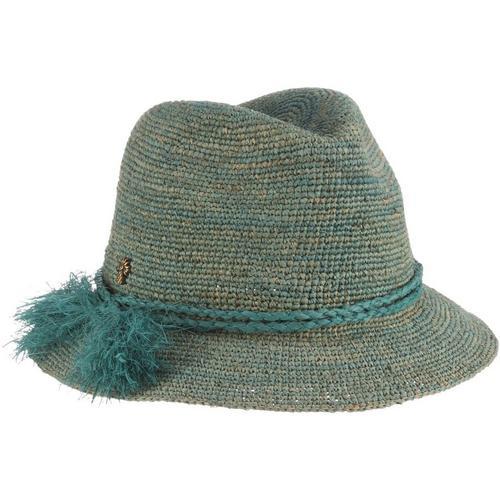 0ba2fdb2bf624 Tommy Bahama Womens Crochet Raffia Safari Hat