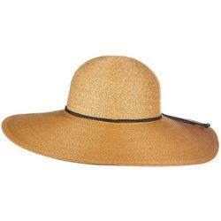 Callanan Womens Paper Braid Round Crown Hat