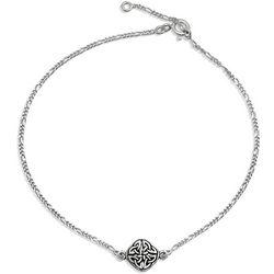 BLING Sterling Silver Celtic Knot Anklet