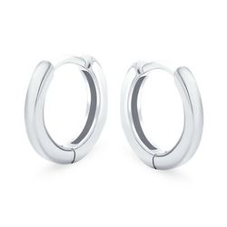 BLING Mini Sterling Silver Huggie Hoops