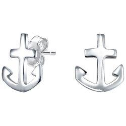 BLING Jewelry Kids Sterling Silver Anchor Earrings