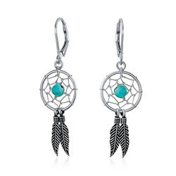 BLING Jewelry Dream Catcher Dangle Earrings