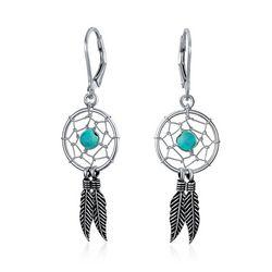 BLING Jewelry Dream Catcher Dangle Earrings