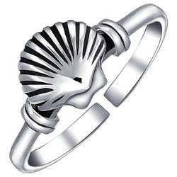 Jewelry Clam Shell Midi Toe Ring