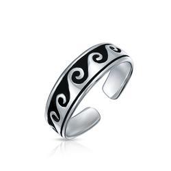 Jewelry Ocean Waves Midi Toe Ring