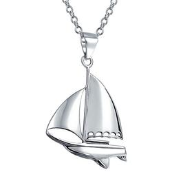 Jewelry Sailboat Sterling Silver Pendant