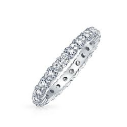 BLING Stackable Cubic Zirconia Eternity Ring