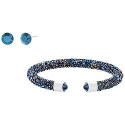 Crystal Energy Xirus Blue Crystal Stud & Bracelet
