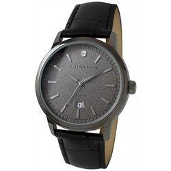 Geoffrey Beene Mens Diamond Chip Strap Watch