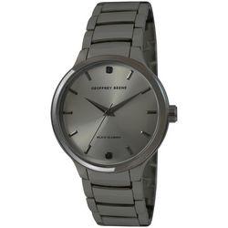 Geoffrey Beene Mens Gunmetal Black Watch