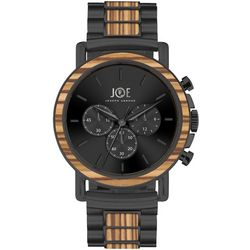 Joe By Joseph Abboud Mens Faux Wood & Black Watch