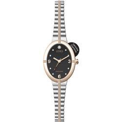 Jones New York Oval Diamond Two Tone Stretch Watch