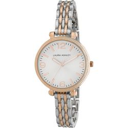 Laura Ashley Two Tone Round Dial Bracelet Watch