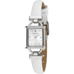 Laura Ashley Bridal Bit White Strap Watch