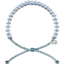 4ocean Light Blue Dolphin Beaded Bracelet