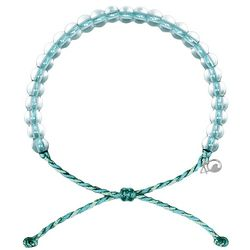4ocean Aqua Blue Manta Ray Beaded Bracelet