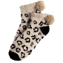 Shiraleah Alma Home Animal Print Socks