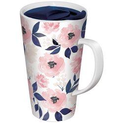 Lady Jayne LTD 13 oz Floral Porcelin Travel Mug