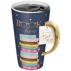 Lady Jayne LTD 13 oz Book Lover Porcelin Travel Mug
