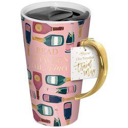 Lady Jayne LTD 13 oz Read Between The Wines Travel Mug