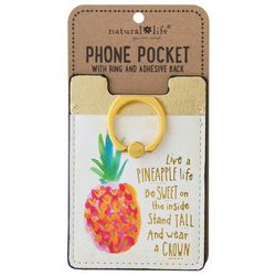 Natural Life Live A Pineapple Life Phone Ring