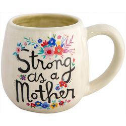 Natural Life Strong As A Mother Folk Mug