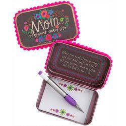 Mom Pray More Worry Less Prayer Box