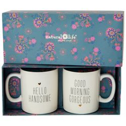 Natural Life 2-pc. Gorgeous & Handsome Mug Set