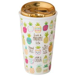 Natural Life Live A Pineapple Life Thermos Mug